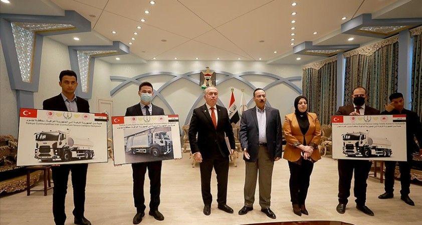 Türkiye Irak'ın Musul, Kerkük ve Diyala kentlerine belediye araçları hibe edecek