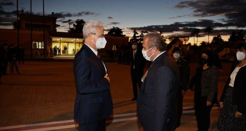 TBMM Başkanı Şentop, İtalya'dan ayrıldı