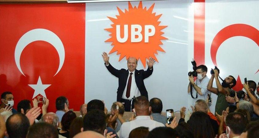 KKTC'de cumhurbaşkanlığı seçimlerinin ilk turunu önde tamamlayan Tatar: UBP zafer elde etti