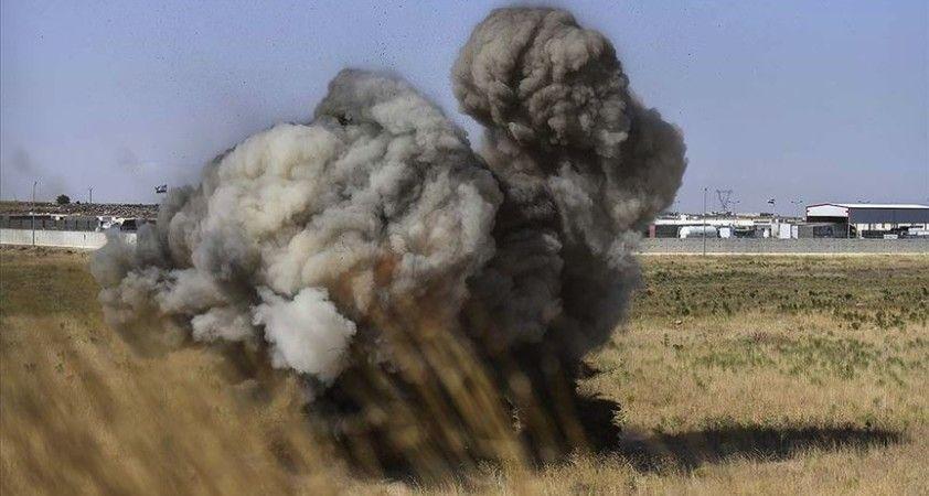 Suriye'de YPG/PKK'nın döşediği mayının patlaması sonucu 1 çocuk hayatını kaybetti
