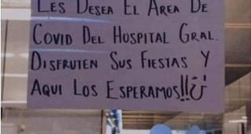 """Covid-19 hastanesinden festivale katılanlara tepki: """"Sizi buraya bekliyoruz"""""""