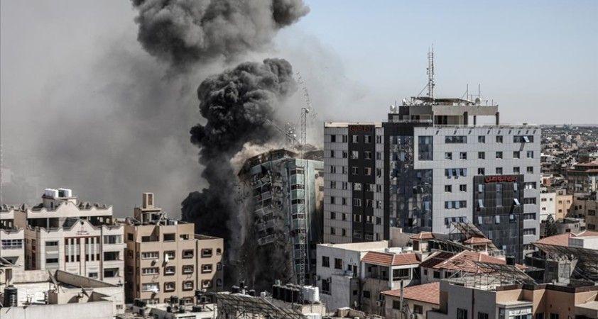İsrail'in yıktığı Gazze'deki 13 katlı binanın sahibi, Uluslararası Ceza Mahkemesine suç duyurusunda bulundu