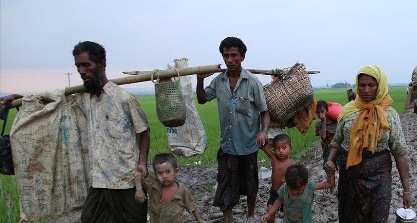Arakanlı Müslümanlar Myanmar'da askeri yönetim karşıtı 'sivil hükümet'i verdiği sözü tutmaya çağırdı