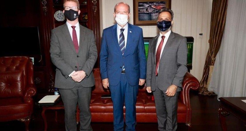KKTC Cumhurbaşkanı Tatar'dan Birleşik Krallık'tan diplomatlarla görüşmesinde 'Kıbrıs'ta egemen eşitlik' vurgusu