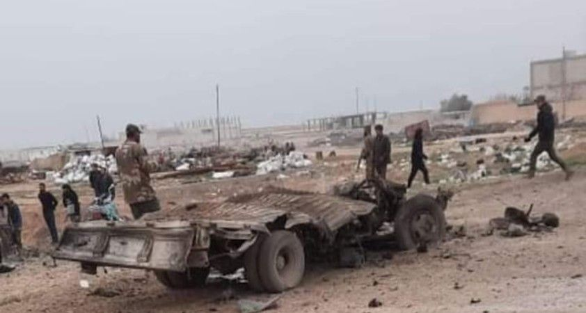 Resulayn'da bomba yüklü araç patladı: 1 ölü