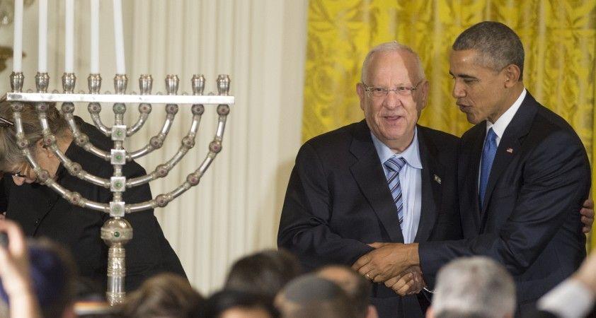 Obama'dan eski İsrail Cumhurbaşkanı Rivlin'e veda mektubu