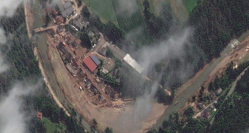 Felaketin vurduğu Schuld köyü uydu fotoğrafı yayınlandı