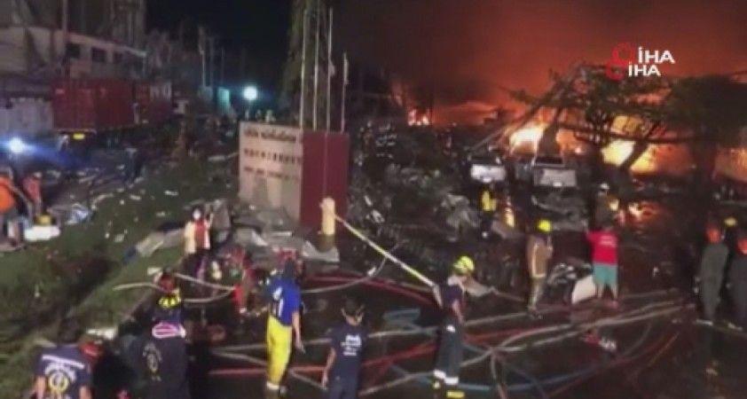 Tayland'da kimya fabrikasında patlama: En az 20 yaralı