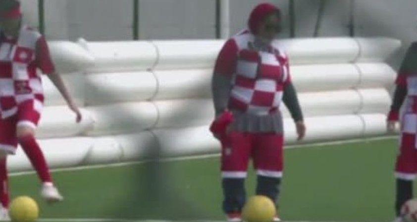 Fas'ta görme engelli kadın futbol takımı kuruldu