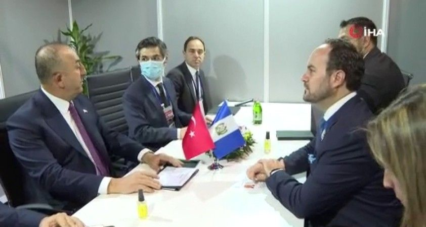 Çavuşoğlu, Azerbaycan, Guatemala ve Nepal Dışişleri Bakanları ile görüştü