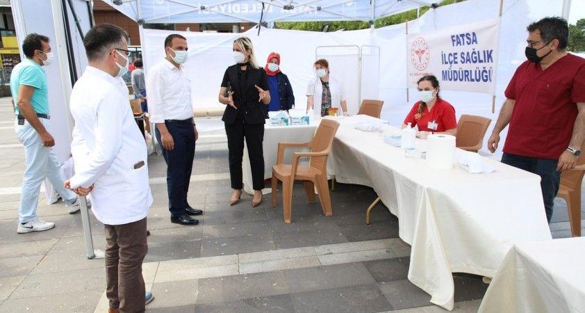 Fatsa'da korona virüse karşı aşı seferberliği
