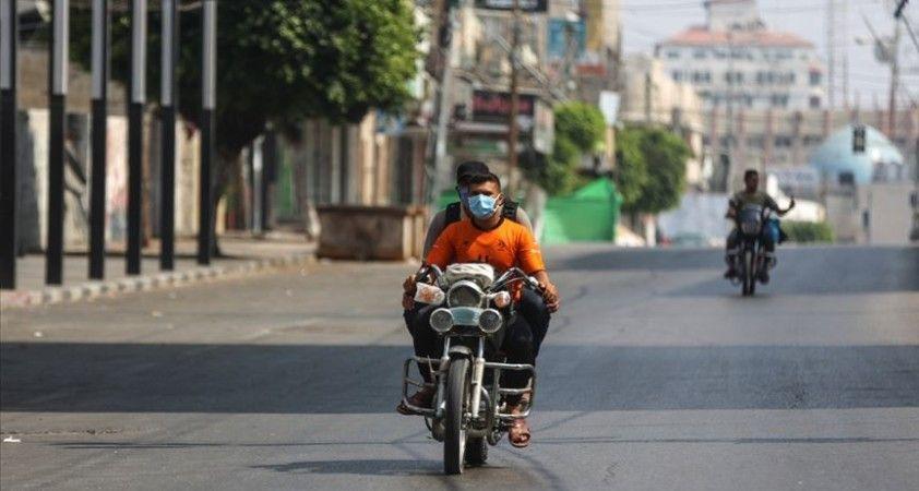 Gazze Şeridi'nde Kovid-19 vaka sayısı bini geçti