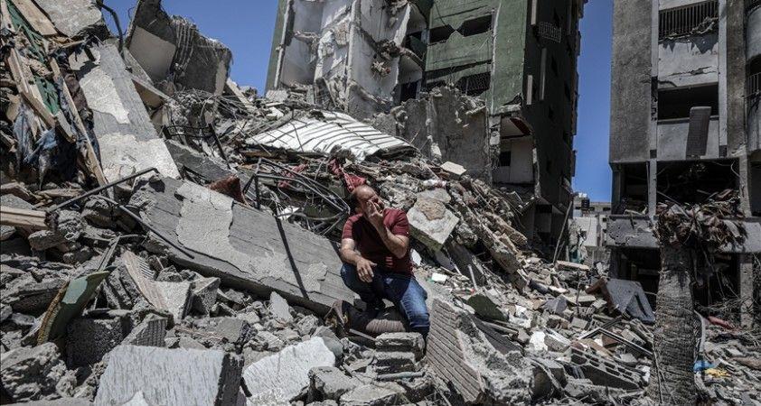 Gazze'deki Sivil Savunma Teşkilatı, Mısır ve Ürdün'den enkaz kaldırma için ekip ve ekipman talep etti