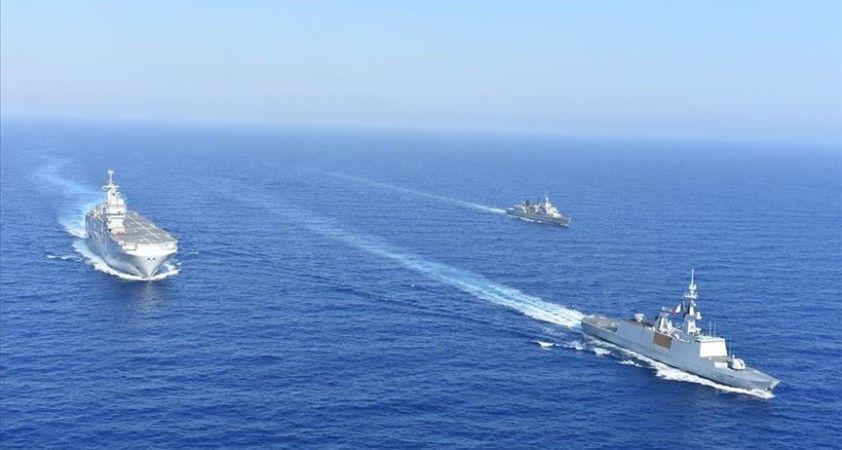 Kıbrıs Rum kesimi, Yunanistan, Fransa ve İtalya'nın ortak deniz ve hava tatbikatı tamamlandı