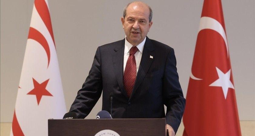 KKTC Cumhurbaşkanı Tatar: Kıbrıs Türk halkının haklarını korumak için her fırsatı kullanacağız
