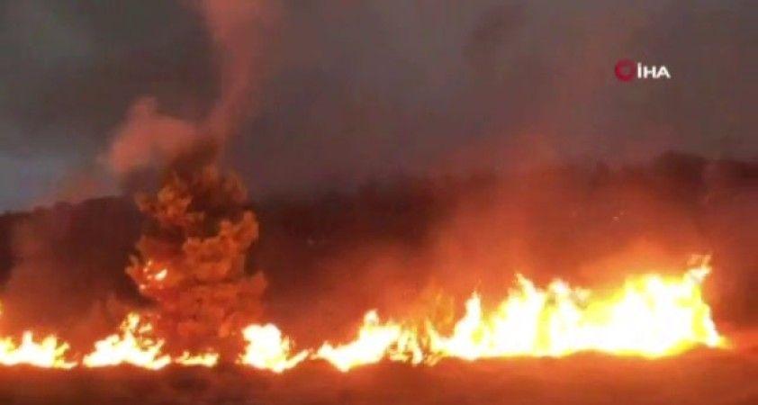 Atina'nın kuzeybatısındaki yangın kontrol altına alınamıyor
