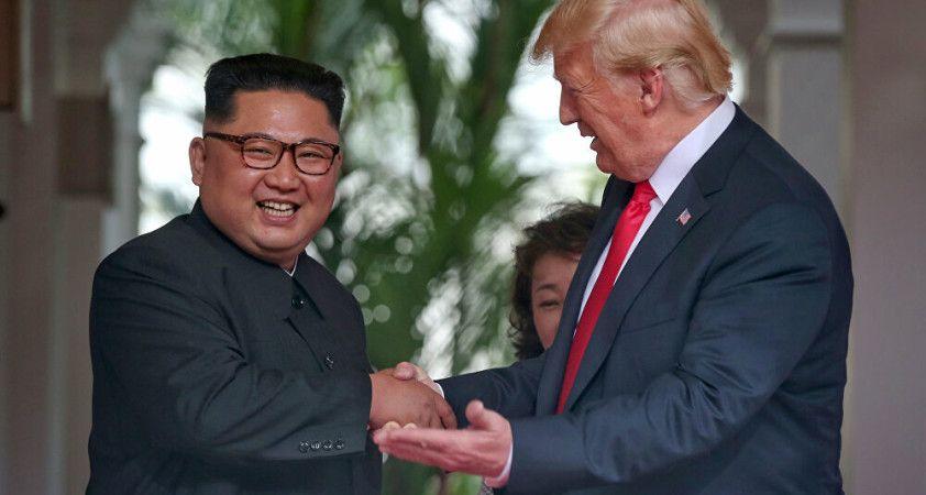 Trump'tan Kim Jong Un paylaşımı: Onu hafife almayın
