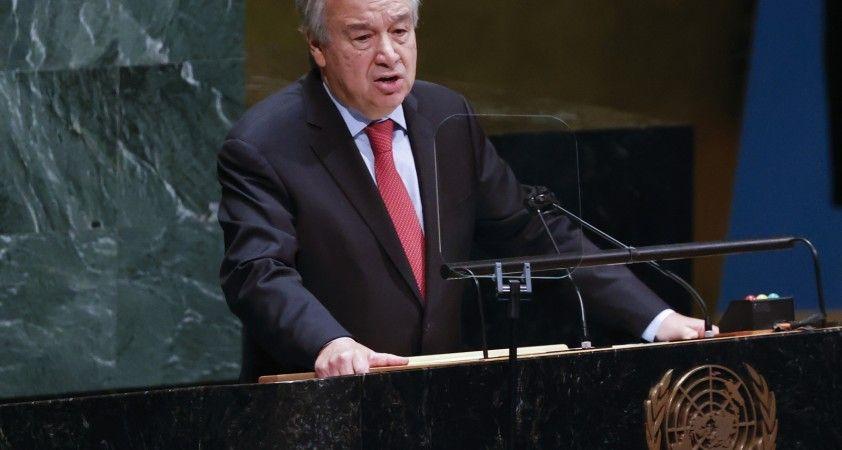 """BM Genel Sekreteri Guterres: """"Yeni hükümetin kurulması Lübnan için çok önemli bir adım"""""""