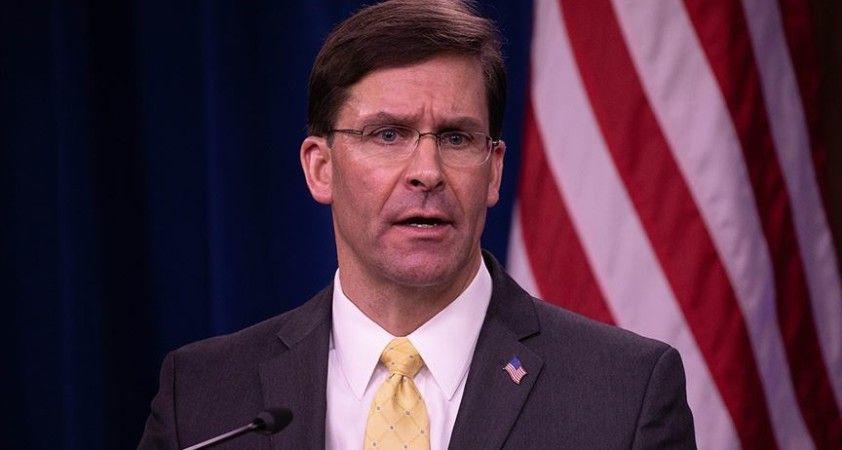 ABD Savunma Bakanı Esper'in istifa edeceği iddia edildi