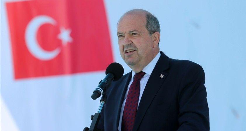KKTC Cumhurbaşkanı Tatar: Bizlerin beklentisi, gençlerimizin Doğu Akdeniz'deki ulusal çıkarlarımızı korumasıdır