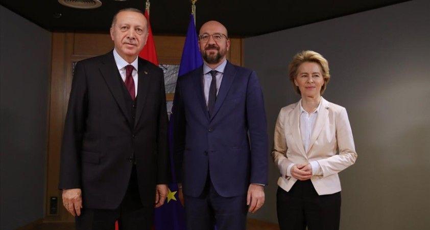 AB yönetimi, Cumhurbaşkanı Erdoğan ile görüşecek