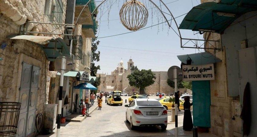 Filistin'de salgın nedeniyle durma noktasına gelen turizmin bu yıl yeniden canlanması zor görünüyor