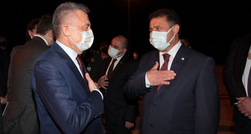 Cumhurbaşkanı Yardımcısı Oktay, KKTC'den ayrıldı