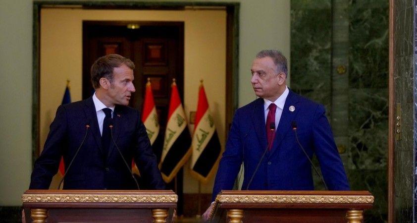Macron, terör örgütü DEAŞ ile mücadelede Irak'a desteğini yineledi