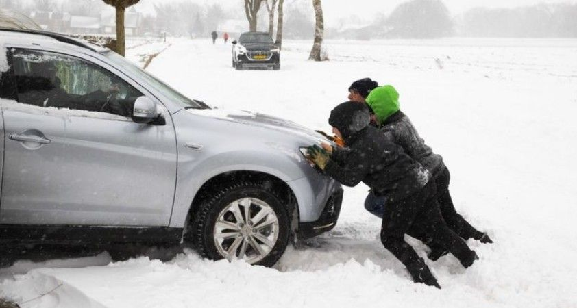 Darcy Fırtınası: Kuzey Avrupa kar altında