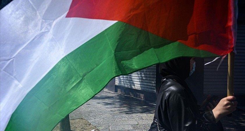 İsrail vatandaşı Filistinliler ilk kez 'Bayrak Yürüyüşü' düzenledi