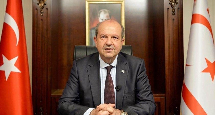 KKTC Cumhurbaşkanı Tatar: 'Türkiye'ye daha da sıkı sarılacağız'
