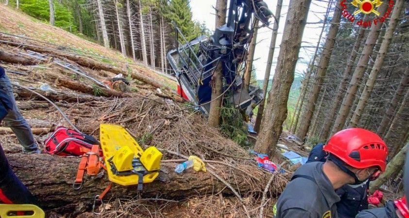 İtalya'daki teleferik kazasında yaralı kurtulan 9 yaşındaki çocuk hayatını kaybetti