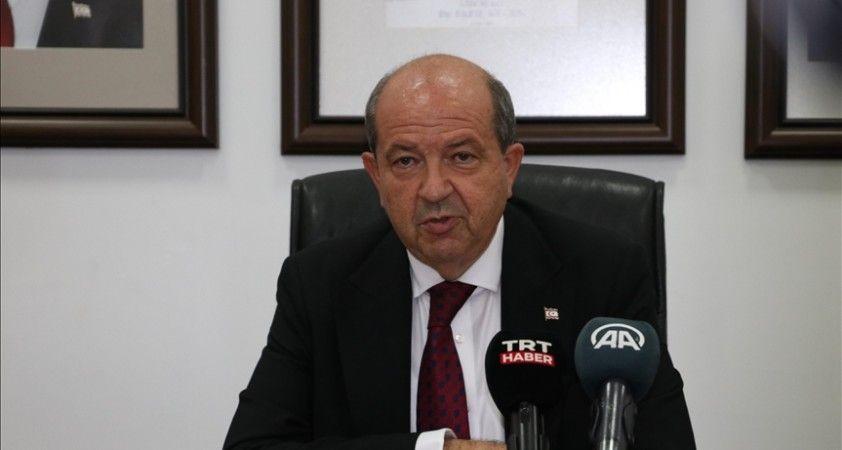 KKTC Cumhurbaşkanı Tatar: İki devletin iş birliğiyle Kıbrıs'ta anlaşma olabileceğini Guterres ile değerlendirdik
