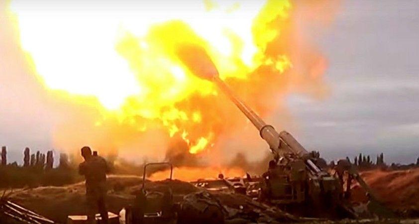 Geçici insani ateşkese kadar Azerbaycan ordusu Ermenistan'a ait askeri hedefleri yok etti