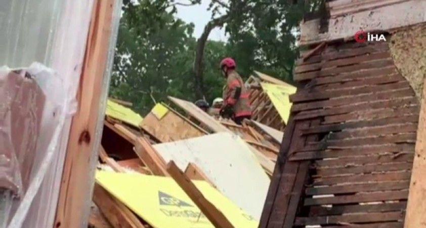 Washington'da inşaat halindeki bina çöktü: 4 yaralı