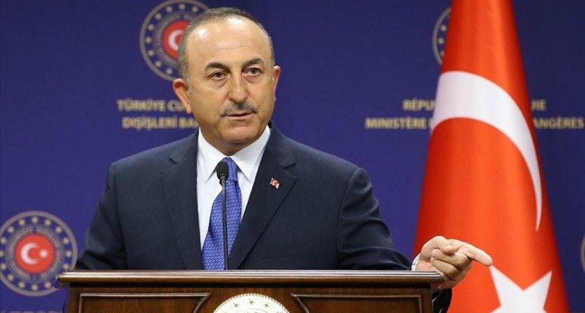 Dışişleri Bakanı Çavuşoğlu: Yunan kara sularını Ege'de 12 mile çıkaramazlar, bu savaş nedenidir
