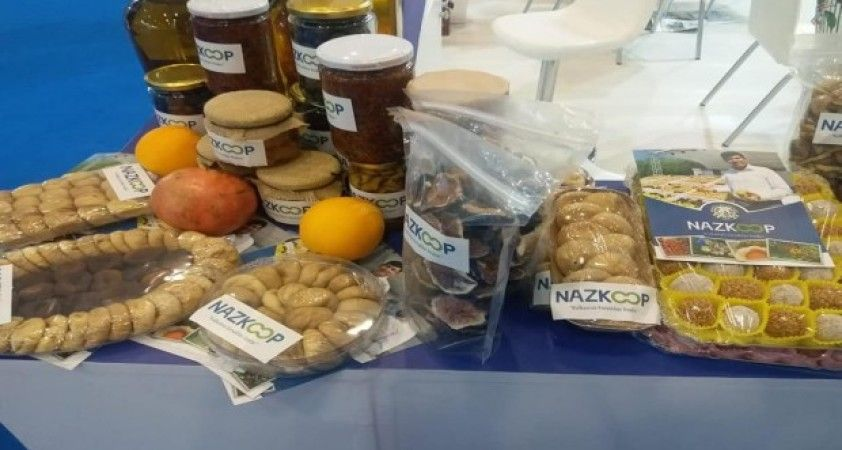 Naz-Koop ürünleri Travel Turkey İzmir Fuar'ında yerini aldı