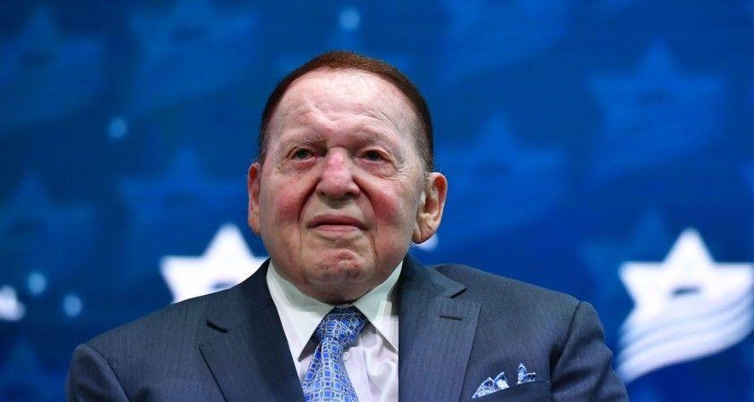 ABD'li milyarder Sheldon Adelson hayatını kaybetti