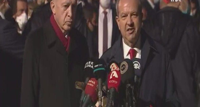 KKTC Cumhurbaşkanı Tatar' dan Maraş ile ilgili açıklamalar