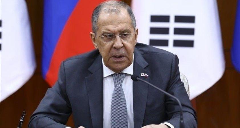 Rusya Dışişleri Bakanı Lavrov, ABD askerlerini Orta Asya ülkelerinde görmek istemediklerini belirtti