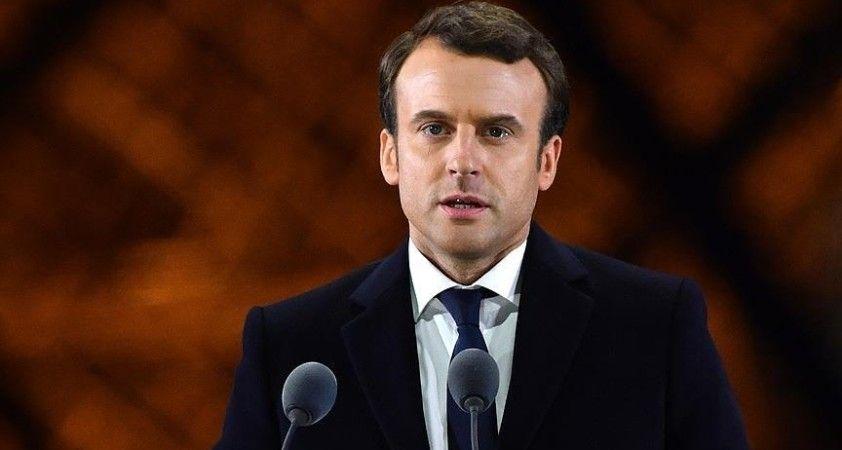 Fransa Cumhurbaşkanı Macron'un Kovid-19 testi pozitif çıktı