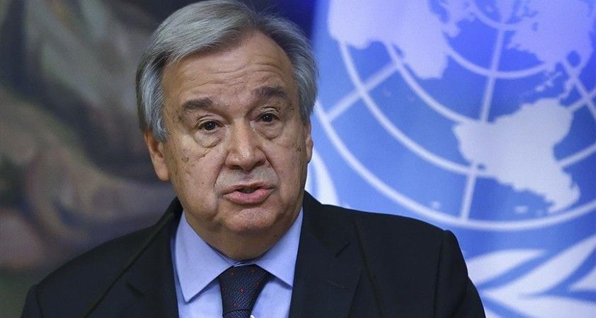 Guterres: Türkiye'den en kısa sürede ulusal iklim eylem planı sunmasını bekliyorum