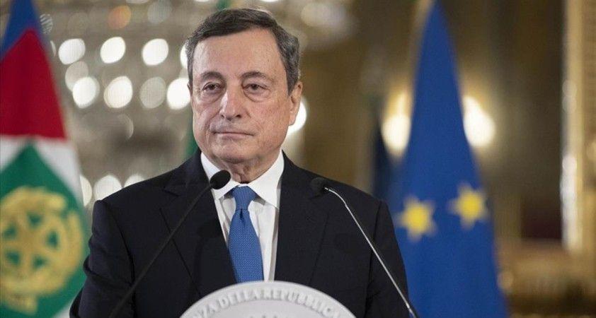 İtalya Başbakanı Draghi: 'Afganistan'da yaşanan krizde yetki BM'ye verilmeli'