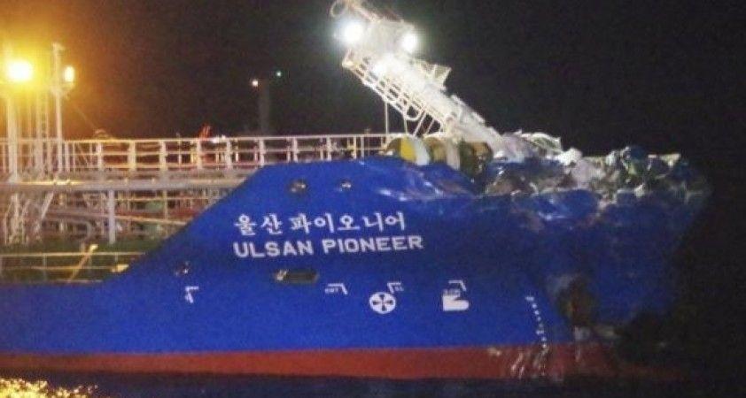 Japonya'da tankerle çarpışan kargo gemisi battı: 3 mürettebat kayıp