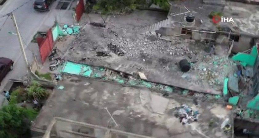 Haiti depremin ardından yaralarını sarmaya çalışıyor