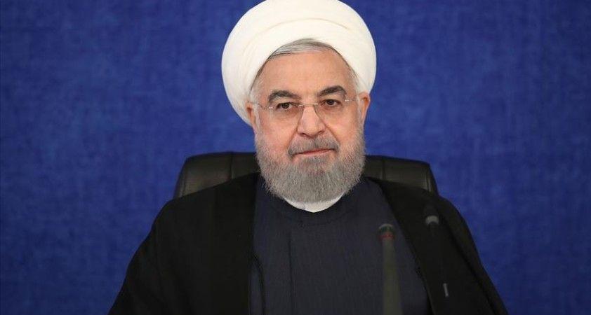 İran Cumhurbaşkanı Ruhani: ABD, yıllardır İran rejimini yıkmanın peşinde