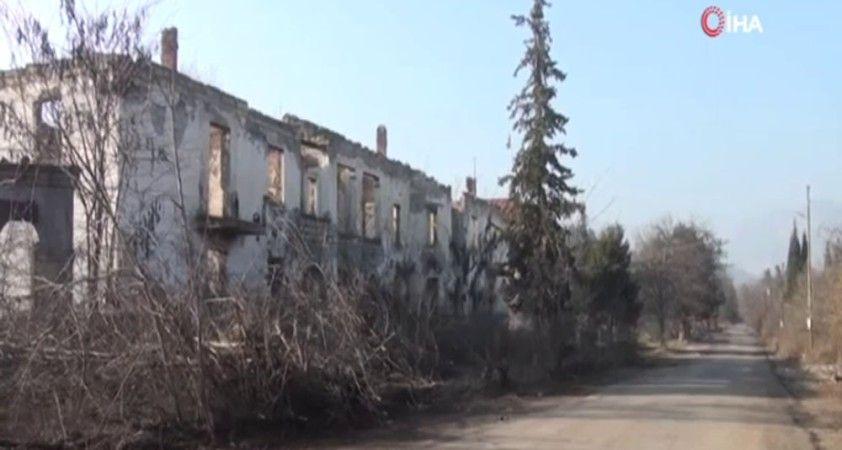 Ermenistan'ın işgalinden kurtarılan Zengilan ili görüntülendi