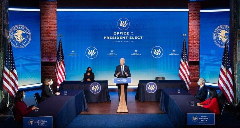 """ABD Başkanı seçilen Joe Biden, """"Kabinede kadınlara da erkekler kadar yer verilecek"""""""