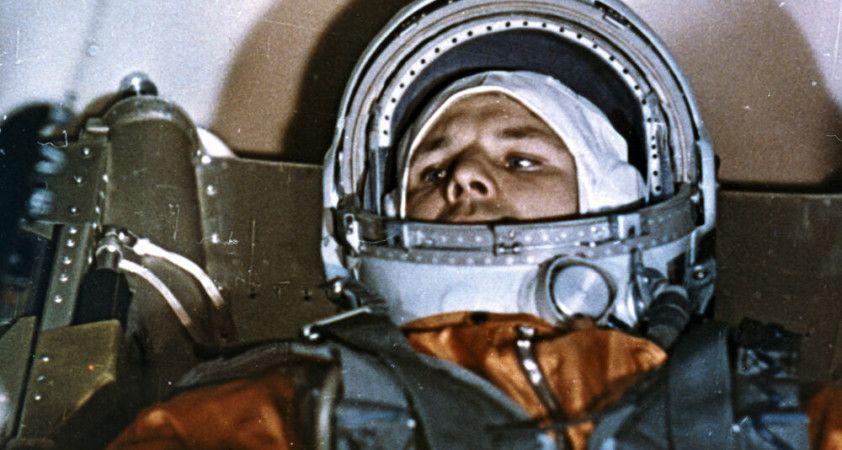 Rus büyükelçilik, uzaya çıkan ilk insan Gagarin'in ismini anmaktan kaçınan ABD'nin hafızasını tazeledi