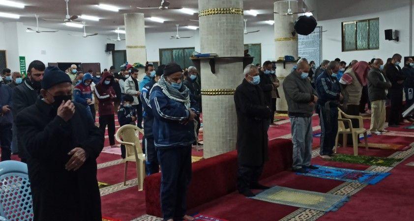 Filistin'de Ramazan'ın ilk teravih namazı kılındı